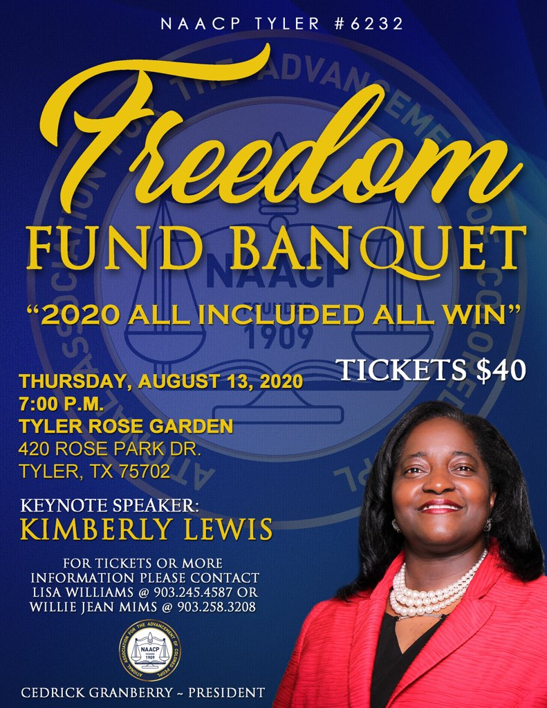 NAACP Tyler #6232 Freedom Fund Banquet